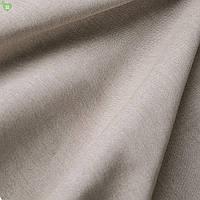Однотонная декоративная ткань бежевая с грубой фактурой  83367v1