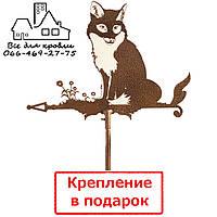 Флюгер на крышу Лисица