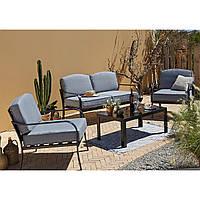 Набор садовой мебели Haversham 4 Piece Sofa Set - Grey, фото 1
