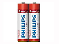 Батарейки ААА Philips PowerLife (LR03-P2F)