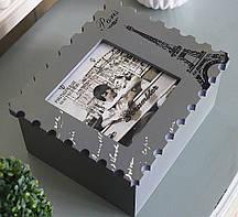 Шкатулка - почтовая марка Гранд Презент GM81-3559