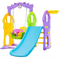 Яркая игровая площадка 3 в 1 Kidsee toys