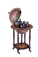 Глобус бар напольный на 4х ножках 53*53*90 см Гранд Презент 36003N