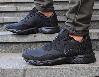 Оригинальные мужские черные кожаные кроссовки Reebok Ridgerider 4.0 Trail DV4270