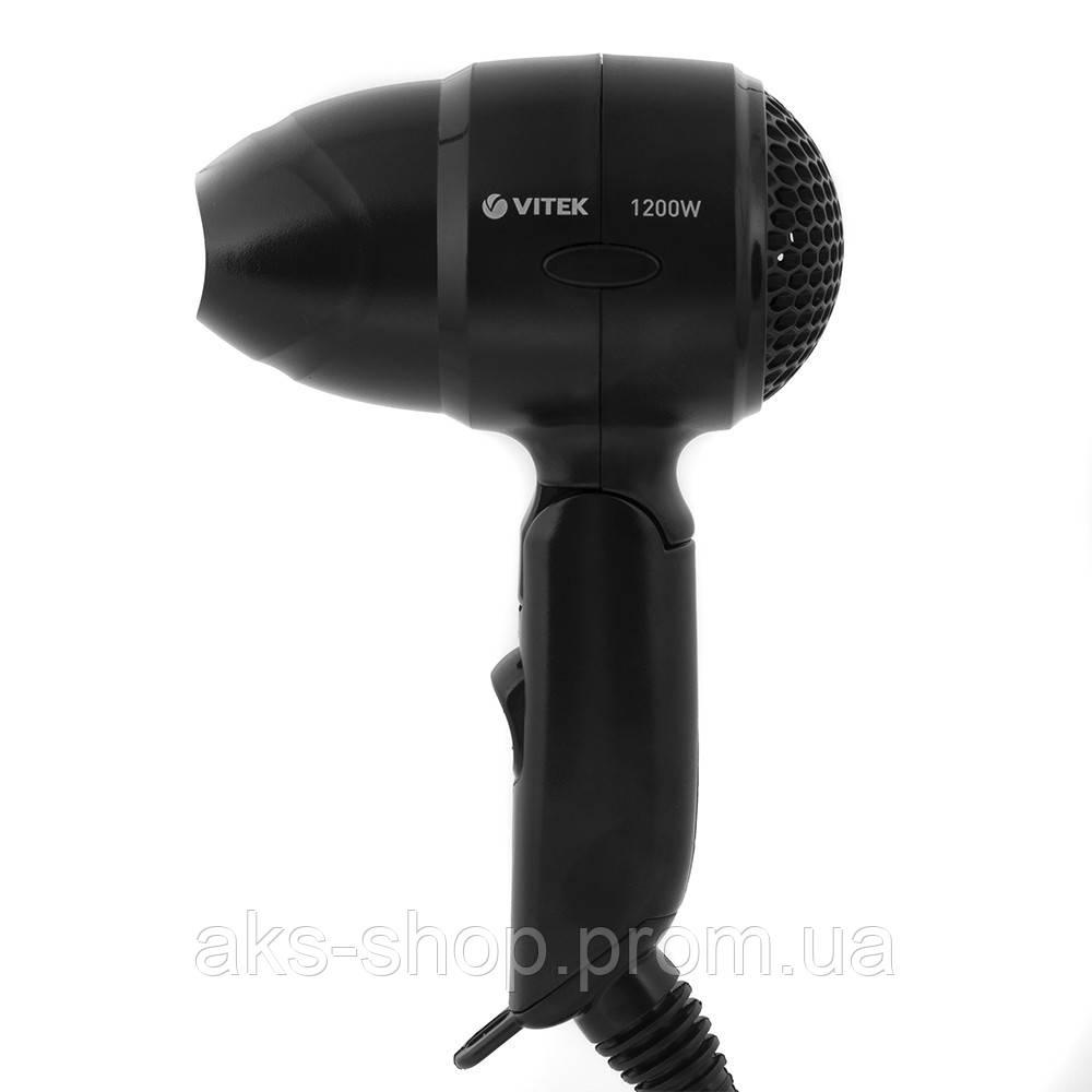 Фен дорожный Vitek VT-8210 1200Вт черный