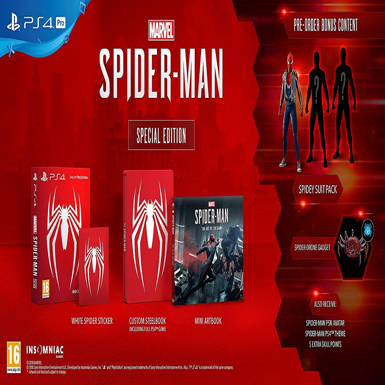 Marvel's Spider Man Special Edition RUS PS4 (NEW)
