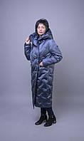 Стильный женский пуховик пальто Mishele 20023