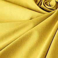 Однотонная декоративная ткань золотисто-желтого цвета Турция TDRS-81009