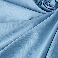 Однотонная декоративная ткань небесно-голубого цвета с тефлоном TDRM-81138