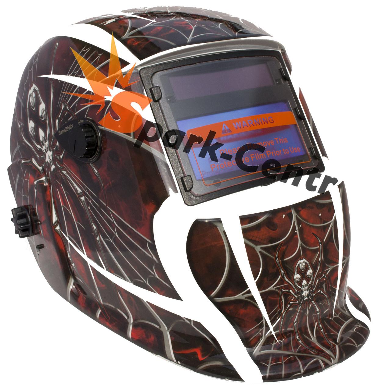 Сварочная маска хамелеон Optech S777B Spider (4 сенсора)