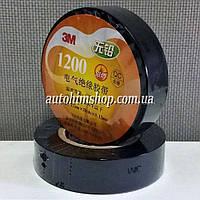 3M Изолента виниловая черная 19ммх20м