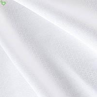 Однотонная скатертная ткань белая 83109v1