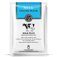 Тканевая маска для лица Rorec Milk Plus Whitening с протеинами молока (30г)