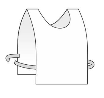 Манижка ( стартовый номер) для сублимации на завязках