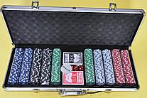 Покер набір в алюмінієвому кейсі-500 IG-2115