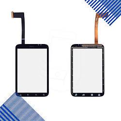Тачскрин HTC A510e Wildfire S G13, цвет черный, ревизия 3