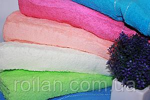Банные однотонные турецкие полотенца