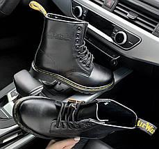 Мужские и женские ботинки Dr. Martens 1460 Black, демисезон - без меха, фото 3