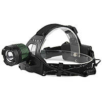 Налобный фонарик BL POLICE 2188 диод T6 (2 зарядных, 2 аккумулятора)