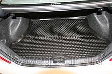 Коврик в багажник  HONDA Civic 4D 2006-2012 сед. (полиуретан)
