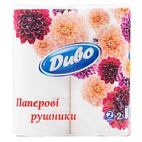 Полотенца бумажные на рулоне Диво
