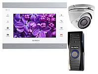Комплект домофона Slinex SL-07IP white + камера Hikvision + карта памяти 32Gb