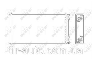 Радиатор печки MAN F 90 / M 90 ( NRF ) 53544