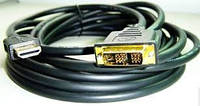 Кабель HDMI-DVI Gembird CC-HDMI-DVI-10 3.0m