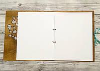 """Фотоальбом """"Моменты жизни"""" (2) (тиковое дерево) (100 листов 31х25 см), фото 5"""