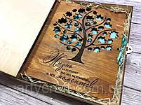 """Фотоальбом """"Моменты жизни"""" (2) (тиковое дерево) (100 листов 31х25 см), фото 6"""