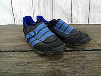 Вело кроссовки Adidas с креплением, целые, разм 40 (25 см, на 39), Хор сост!
