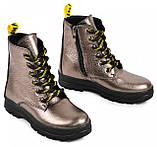 Ботинки подростковые для девочки из натуральной кожи от производителя модель МАК1575, фото 3