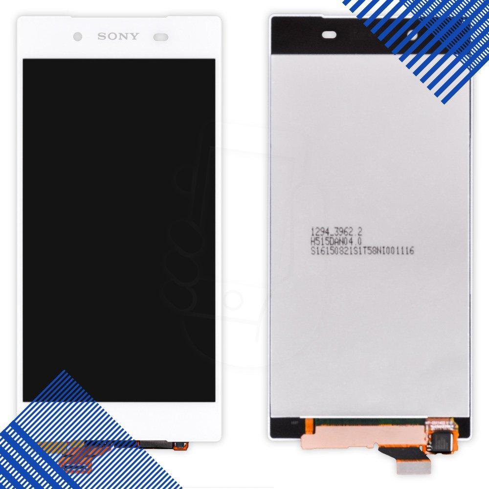 Дисплей Sony Xperia Z5 E6603 (E6653, E6683) с тачскрином в сборе, цвет белый