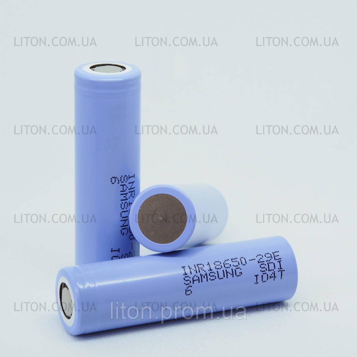 Аккумулятор Samsung 29E 18650 на 2900 mAh Слаботоковые (8А)