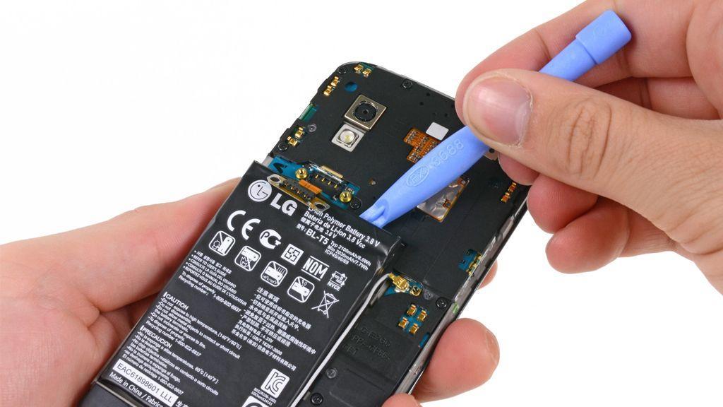 Замена аккумулятора LG G2 Mini D620