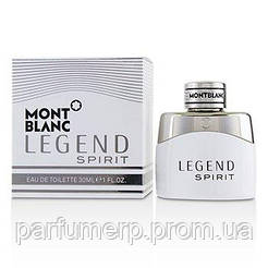 Mont Blanc Legend Spirit (30мл), Мужская Туалетная вода  - Оригинал!