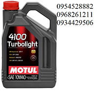 MOTUL 4100 TURBOLIGHT SAE 10W-40 5Л 387606