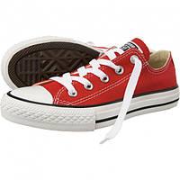 Кеды Converse All Star Chuck Taylor красные Низкие 40 размер - 25.5 см
