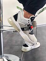 """Мужские кроссовки Nike Air Force 270 """"Grey Dark""""(Топ качество) серые 41, фото 1"""