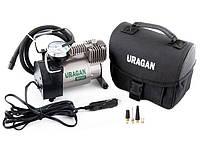 Автомобильный компрессор 37 л/мин. 7 атм URAGAN для шин R13-R16 (90130) Ураган компресор Гаран. 24мес. Польша.