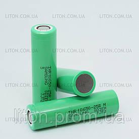 Аккумулятор Samsung - 25R 18650 на 2500 mAh Высокотоковый (20А)