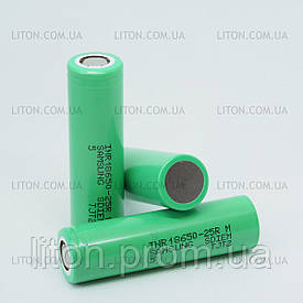 Акумулятор Samsung - 25R 18650 на 2500 mAh Високотоковий (20А)