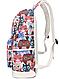 Рюкзак молодежный Цветные Совята Набор 3 в 1, фото 4