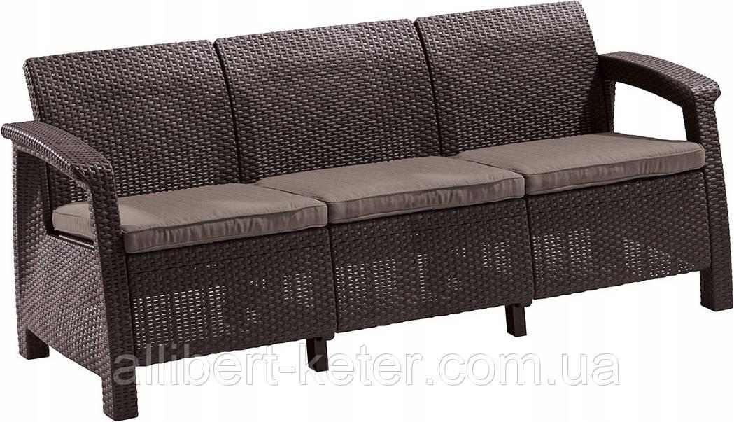 Комплект садовой мебели Keter Corfu Love Seat Max
