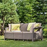 Комплект садовой мебели Keter Corfu Love Seat Max, фото 5