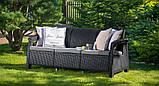Комплект садовой мебели Keter Corfu Love Seat Max, фото 6