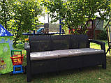 Комплект садовой мебели Keter Corfu Love Seat Max, фото 10