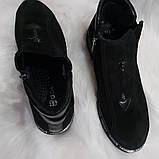 Женские демисезонные замшевые ботинки, фото 5