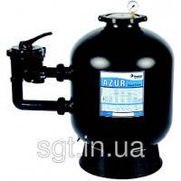 Фильтровальная емкость AZUR,560 мм, 12 м3/ч 6-ходовой боковой клапан, 140 кг песка