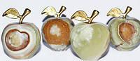 Яблоко из оникса 12см
